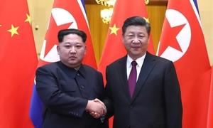 Kim Jong-un thăm Trung Quốc, hội đàm Tập Cận Bình