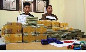 Cảnh sát chặn bắt ôtô chở lô heroin trị giá hơn 2,2 triệu USD