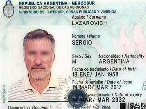 Sergio Lazarovich, 60 tuổi, đã đổi tên thành Sergia và giới tính thành nữ. Ảnh: Informate Salta.