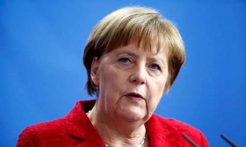 Tổng thống Đức Angela Merkel. Ảnh: Reuters.