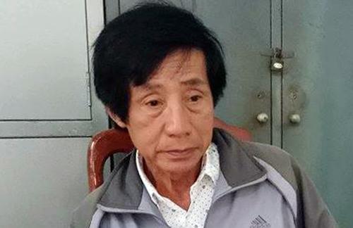 Ông Huỳnh Bê tại cơ quan điều tra. Ảnh:Quốc Thịnh.