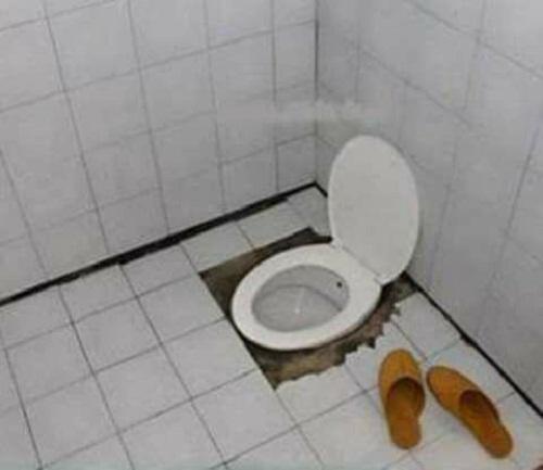 Nhà vệ sinh thế hệ mới.