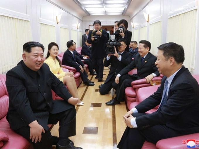 Bên trong tàu chở Kim Jong-un tới Bắc Kinh