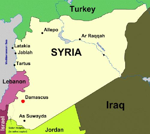 Sông Euphrates trở thành ranh giới hoạt động giữa quân đội Nga và Mỹ ở Syria. Đồ họa: SouthFront.