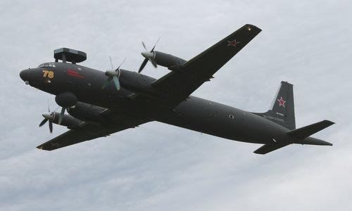 Máy bay săn ngầm Il-38N của hải quân Nga. Ảnh minh họa: Sputnik.