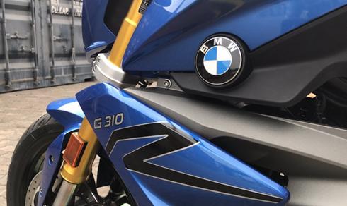 BMW G310R được phân phối chính hãng tại Việt Nam.