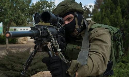 Một xạ thủ bắn tỉa của Israel. Ảnh: Times of Israel.