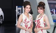 Dàn người mẫu tại triển lãm ôtô lớn nhất Đông Nam Á