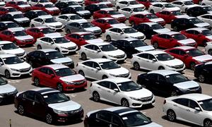 Ôtô nhập khẩu vào Việt Nam tháng 3 tăng vọt 25 lần