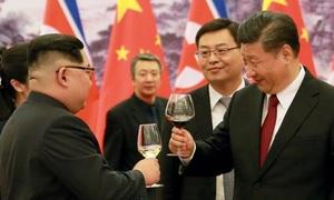 Cuộc gặp xây dựng hình ảnh của Kim Jong-un và Tập Cận Bình