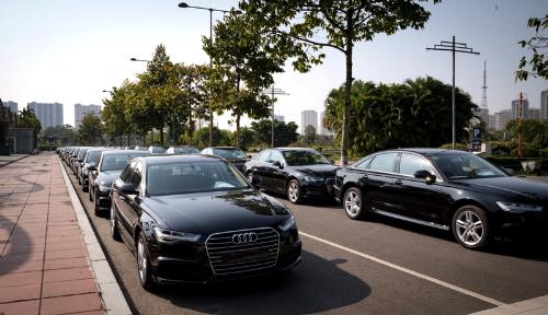 Audi tiếp tục được lựa chọn tại các sự kiện chính trị lớn tại Việt Nam.