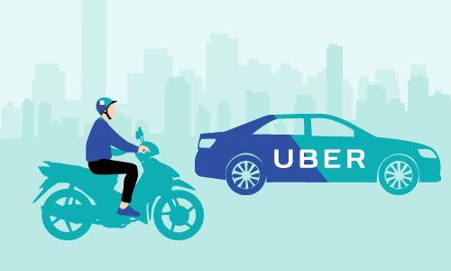 Hành trình dang dở của Uber ở Việt Nam (click vào ảnh xem đầy đủ). Đồ họa: Tiến Thành.