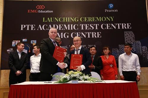 Các trung tâm khảo thí PTE Academic của EMG Education sẽ cho phép học sinh Việt Nam đạt những chứng chỉ được công nhận trên thế giới.