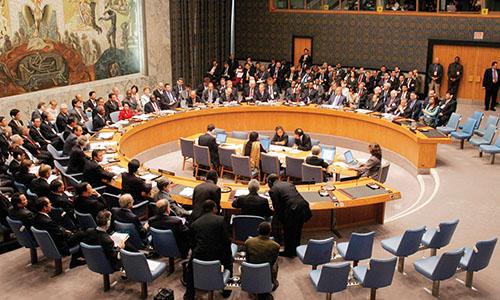 Một phiên họp của Hội đồng Bảo an Liên Hợp Quốc. Ảnh: UN.
