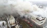 Nga bắt chủ trung tâm thương mại cháy làm 64 người chết