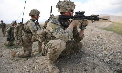 Lính đặc nhiệm Mỹ tại Syria. Ảnh:SOFREP.