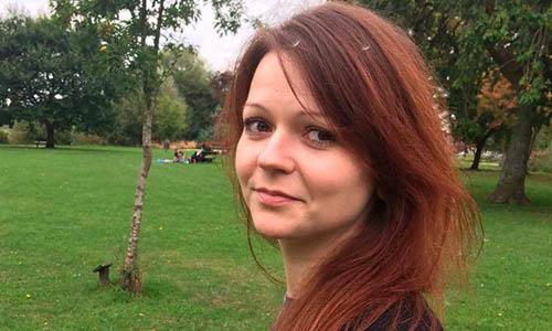 Yulia Skripal, con gái của cựu điệp viên NgaSergei Skripal. Ảnh: CNN.