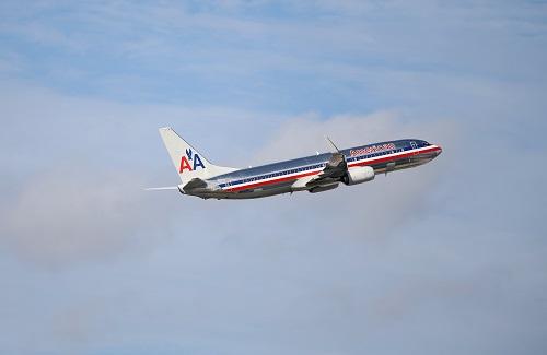 Phi công hãng American Airlines báo cáo phát hiện vật thể lạ bay theo hướng ngược lại hôm 24/2. Ảnh: Independent.