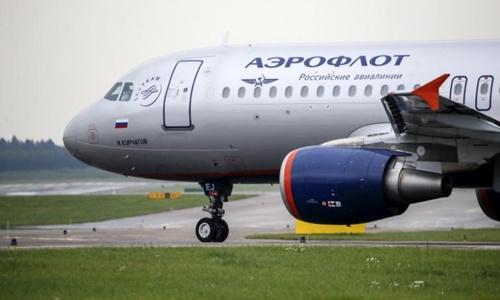 Máy bay Aeroflot Nga. Ảnh: Reuters.