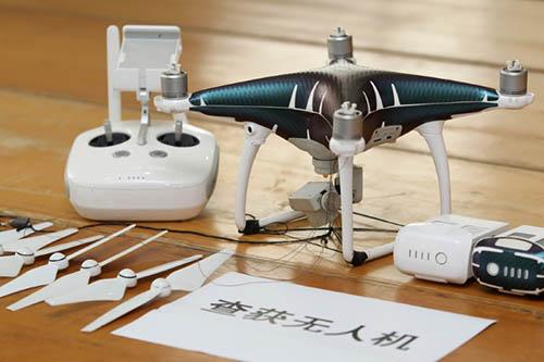 Máy bay không người lái, tang vật thu giữ tại hiện trường vụ triệt phá đường dây buôn lậu điện thoại thông minh vào Trung Quốc đại lục. Ảnh:Legal Daily.