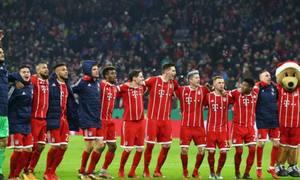 Bayern Munich 6-0 Borussia Dortmund
