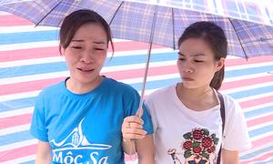 Tiểu thương thiệt hại nặng sau vụ cháy chợ Quang
