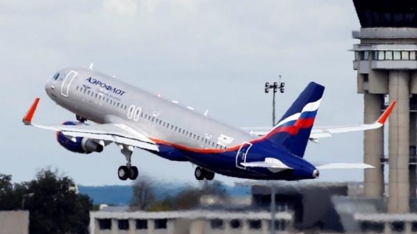 Máy bay Aeroflot của Nga. Ảnh: