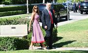 Váy 3.000 USD của Melania Trump gây sốt