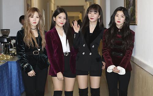 Nhóm Red Velvet. Ảnh: AP