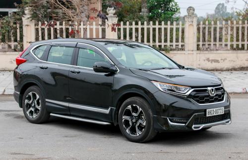 Honda CR-V tăng giá thêm 5 triệu tại Việt Nam