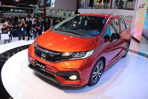 Honda Jazz tạo nên luồng gió mới ở phân khúc hatchback hạng B.