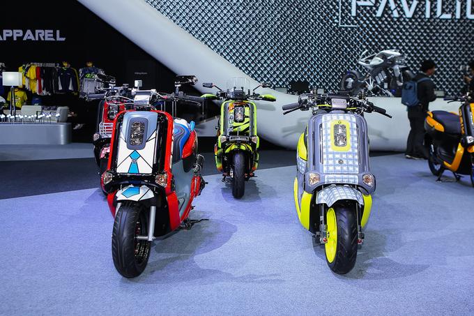 Dàn xe ga Yamaha Qbix phong cách đường phố