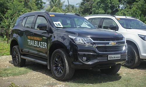 Chevrolet Trailblazer sắp bán ra tại Việt Nam.