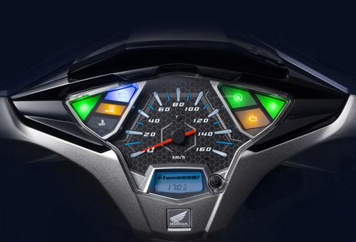 Đồng hồ LCD hiển thị hình ảnh Smart Key.