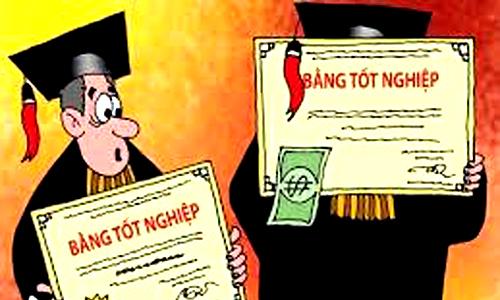 Mượn bằng của cán bộ thuế, Bí thư xã bị cách chức