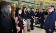 Kim Jong-un tỏ lòng hâm mộ với nhóm nhạc nữ Hàn Quốc