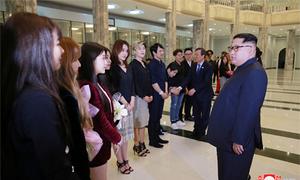 Buổi hòa nhạc Hàn Quốc gây ấn tượng với Kim Jong-un