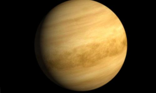 Sao Kim có thể là hành tinh quan trọngtrong cuộc tìm kiếm sự sống ngoài Trái Đất. Ảnh:SpiceFacts.