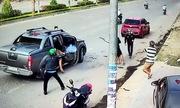 Hai nhóm nổ súng thanh toán nhau giữa đường