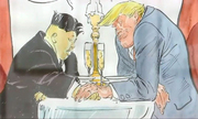 Trump thành nhân vật trong sách biếm họa của nghệ sĩ Pháp