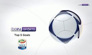 Top 5 bàn thắng vòng 30 Serie A