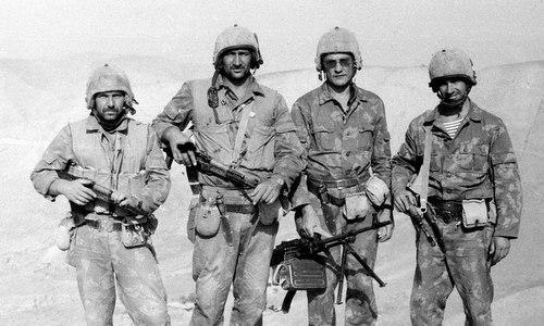Các sĩ quan đặc nhiệm Alfa dưới thời Liên Xô. Ảnh: Reddit.