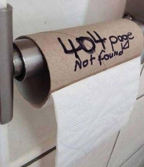 Lỗi truy cập ở nhà vệ sinh.