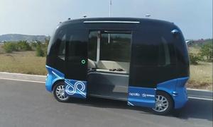 Trung Quốc thử nghiệm xe buýt mini tự lái