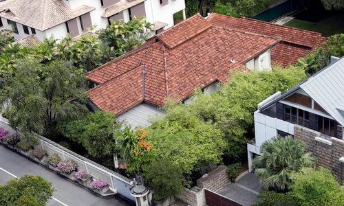 Ngôi nhà của cựu thủ tướng Lý Quang Diệu. Ảnh: Reuters.