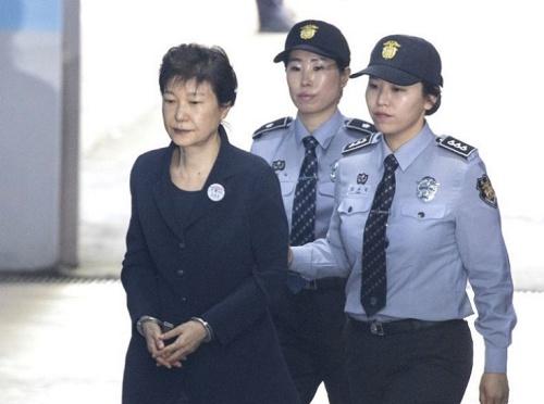 Cựu tổng thống Hàn Quốc Park Geun-hye. Ảnh: Yonhap.