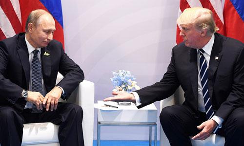Khao khát làm bạn với Putin của Trump