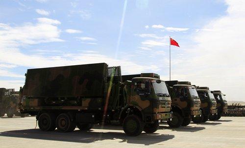 Các hệ thống radar quân sựcủa Trung Quốc. Ảnh: Global Times.