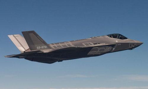 Tiêm kích tàng hình F-35 của Mỹ. Ảnh: USAF.