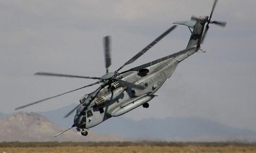 Một chiếcCH-53E Super Stallion của thủy quân lục chiến Mỹ. Ảnh:Wiki.